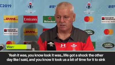 ''Howley is devastated' says Gatland after Wales backs coach sent home