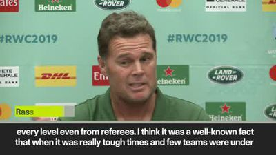 'All Blacks got all the 50/50 decisions' RSA coach complains ahead of WC opener