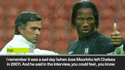 Drogba says 'Don't worry about Mourinho, he's fine'