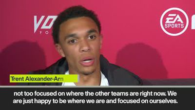 """We'll fight until the end for the title"" says Liverpool's Alexander-Arnold"