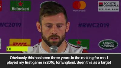 'It's been 3 yrs in the making' England's Daly on the World Cup