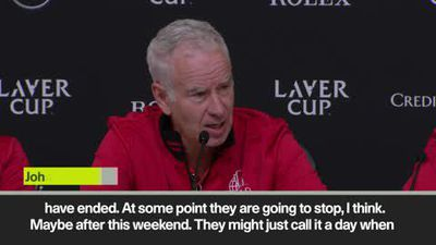 'We are going to whip their arse' McEnroe. 'We've all beaten Federer' Kyrgios