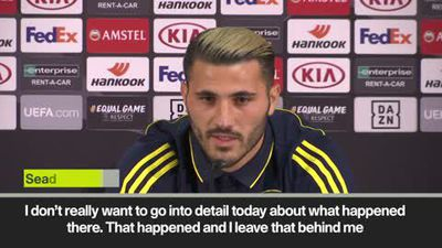 'I want to leave knife attack behind me' Kolasinac