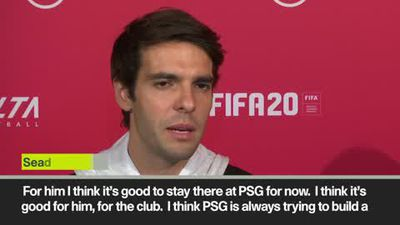 'It will be a great year for Neymar at PSG' Kaka