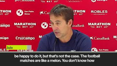 'Football's like a melon' Lopetegui plays down Zidane exit rumours