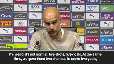 'Man City showed respect to Watford' Guardiola on 8-0 win