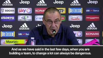 'Juventus need time to improve' says Sarri after 2-1 win over Verona in Serie A