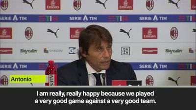 Conte admits he felt 'pressure' before Milan derby as Inter wins 2-0