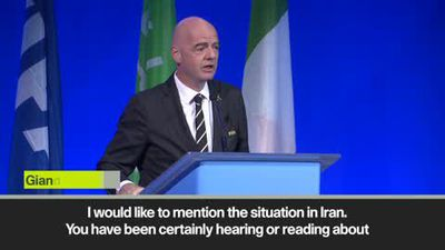 'Iran to lift ban on women watching men's football' - Infantino