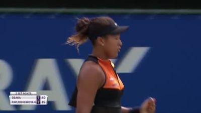 Naomi Osaka wins home title for the first time in Osaka, Japan