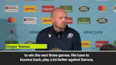 'Scotland must bounce back with three wins' - Townsend