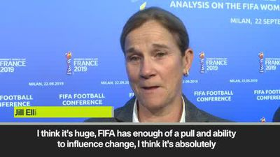 'Iran allowing women at games is huge' USA boss Ellis