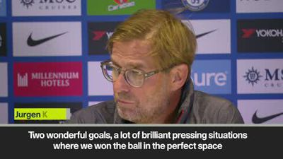 Klopp says Liverpool could have scored three or four in 2-1 win away at Chelsea