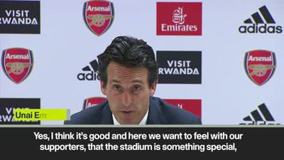 Emery praises Arsenal's spirit after 3-2 win over Aston Villa