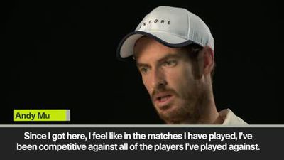 'I feel competitive' -Murray ahead of the Shanghai Masters