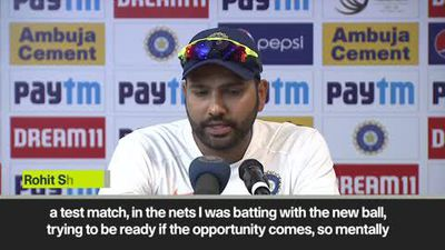 Rohit hits 9 6s & says he's 'not here for records'