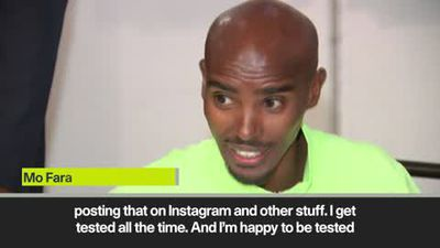 'I've not done anything wrong' - Mo Farah distances himself from disgraced Salazar