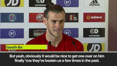 Bale wants to 'get one over' on Modric with Wales