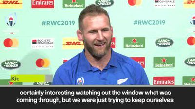 'Time for the real deal' - All Blacks skipper Read relishing knockout phase
