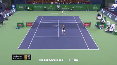 Medvedev wins in Shanghai, emerges as challenger to big 3