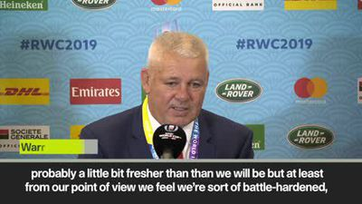 'It will change people's lives' Gatland looks ahead to Wales vs Fance, QF
