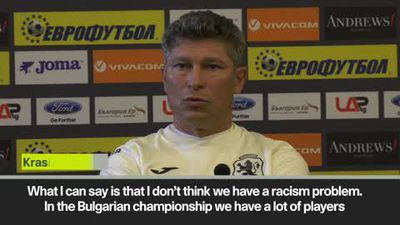 'Bulgaria does not have racism problem unlike England' coach Balakov