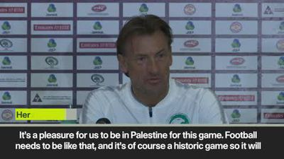 "Saudi coach Renard calls WC qualifier vs Palestine ""a historic game"""