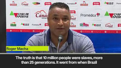 'I am proof of racism' - Bahia coach delivers strong speech