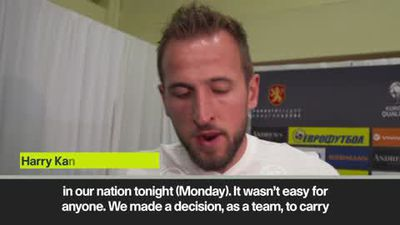 Kane proud of the reaction to racism from England players