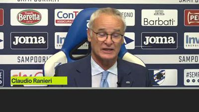 'We need to chase the nightmare away' - Claudio Ranieri at Sampdoria