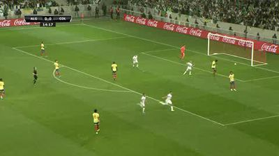 Mahrez magic helps Algeria beat Colombia in Lille