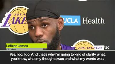 LeBron James responds to backlash to his comments on NBA China crisis