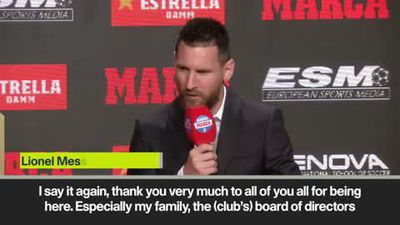 'Bad cop' Messi on parenting; thanks Suarez and Barcelona teammates for helping him win Golden Boot