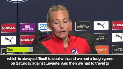 'So proud of the team' Atletico's Toni Duggan after 1-1 draw at Manchester City in UCL