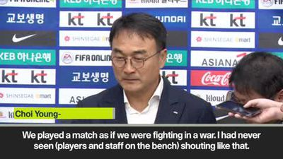 South Korea say they played North Korea WC qualifier 'as if we were fighting in a war.'