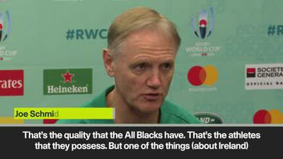Ireland's Schmidt admits New Zealand's experience could be too much - but says his side have 'bel...