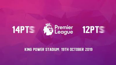 Data preview to Leicester City v Burnley in the Premier League