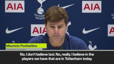 'No need to buy' says Pochettino as Spurs look to address difficult start to the EPL season