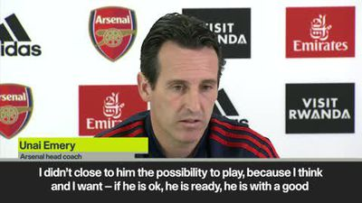 'I'm never closed to Ozil' says Emery ahead of Premier League match at Sheffield Utd