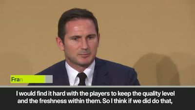 Lampard against increasing Champions League group games
