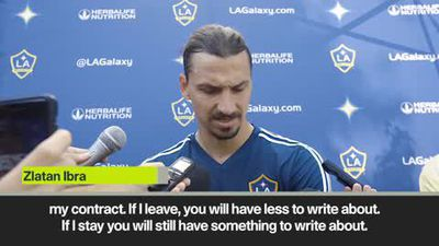 Zlatan speaks about his popularity and future