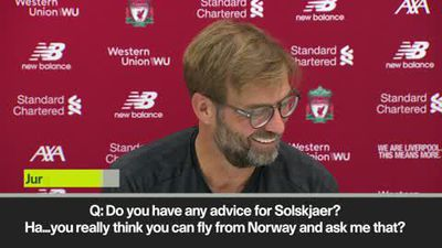 """I don't have advice for Solskjaer"" laughs Klopp"