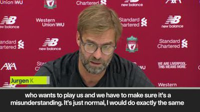 """Not many teams want to face us,"" says Klopp of EPL leaders Liverpool"