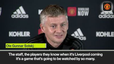 'We will give Liverpool a good game' Solskjaer