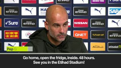 'I need to put my players in the fridge over Christmas' Guardiola