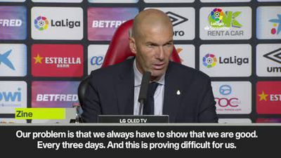 Zidane left fuming as Real Madrid lose at Mallorca in La Liga