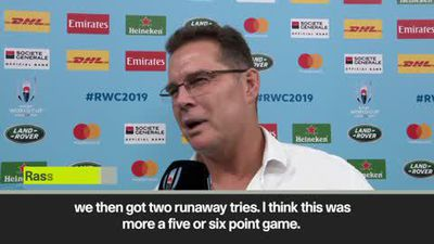 'The margin at the end is not true reflection' Erasmus happy as South Africa seal World Cup semi-...