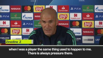 Zidane relaxed about rumours he faces sack as Real Madrid struggle