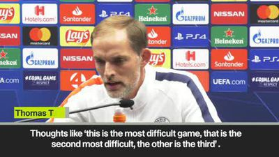 PSG coach Tuchel expecting tough match at Club Brugge in UCL