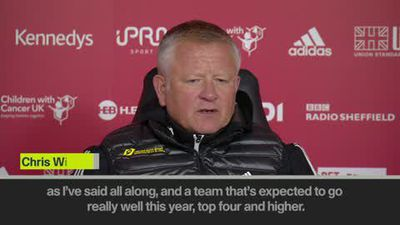 'We did a lot of things right' says Wilder after Sheffield Utd beat Arsenal 1-0